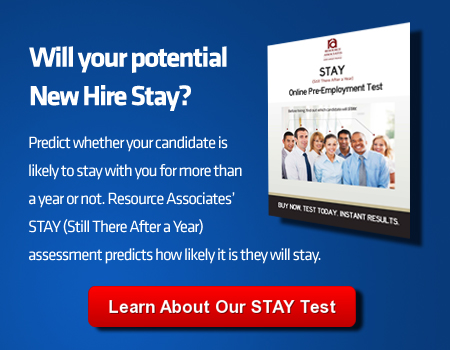 Pre-Employment Tests for Employee Turnover Reduction